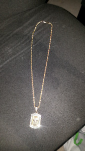 18k gold plated Versace chain