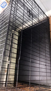 Large 2 door kennel