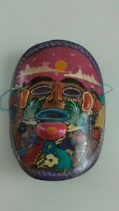 Beautiful Painted Mexican Mask Kitchener / Waterloo Kitchener Area image 1