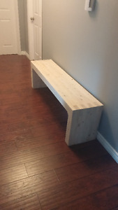 Cascade 5' Solid Wood Bench NEW FREE DELIVERY