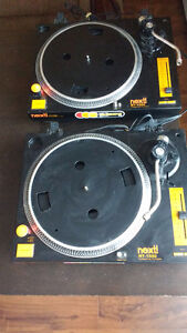Two Next! Turntables - Model NT-1500