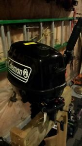 5 HP Coleman Outboard Motor