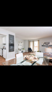 downtown secured 1bed apartment sublet $975 all inclusive