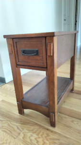 solid wood side/end tables