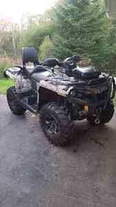 2014 can am out lander 650 Max xt