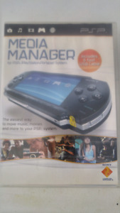 Media Manager for PSP, (PlayStation Portable) Systems