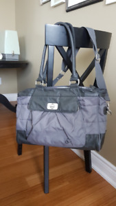 Diaper bag with change pad
