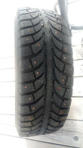 2 studded winter tires