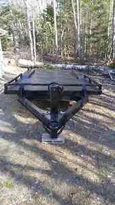 16 foot float trailer pintle hitch