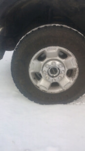 """Wanted FORD 17""""   8 BOLT RIMS"""