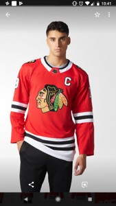 NHL Official Chicago Blackhawks Toews jersey