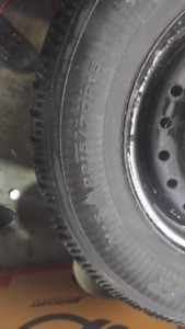 Used Snow Tires P215 70R15