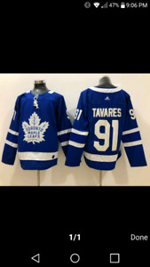 Brand new Toronto Maple Leafs John Tavares hockey jersey