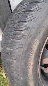 Winter tires 205/65/15 M&S