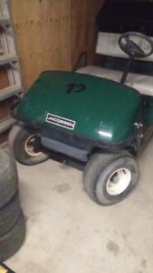 Jacobsen dump box utilty cart.