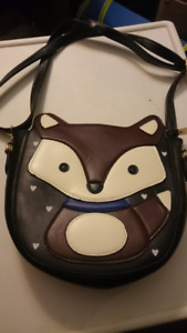 New leather Fox purse
