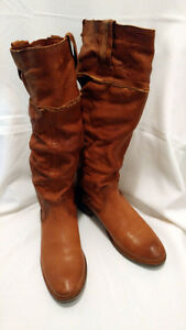 Authentic Frye Women's Shirley Artisan Leather Knee High Boots