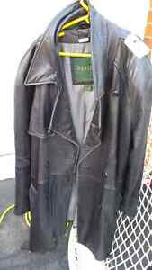 Mens leather jacket Large