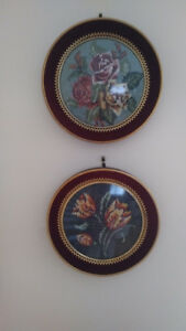 2 applique mural  ornemental-