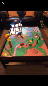 Kids' Play Table & Adult Coffee Table