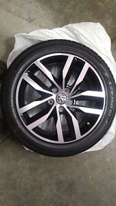 OEM VW Golf Sportwagen brand new tires and rims