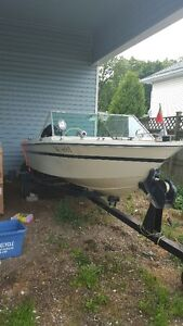 New Price - Boat, Motor, and Tilt-Trailer - Wife Says Must Go! Cambridge Kitchener Area image 1