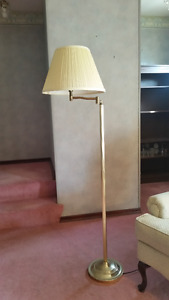 Floor over the chair lamp and Swag Lamp