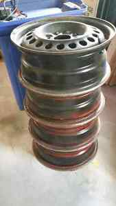 15 inch Wheel Rims...Set of Four... $40 Belleville Belleville Area image 2