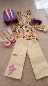 AMERICAN GIRL DOLL SNOWBOARDING OUTFIT