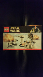 Lego Star Wars Battle of Hoth Instructions 7749