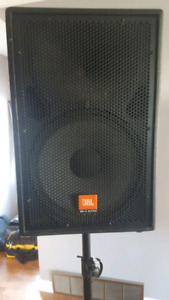 JBL speakers with amp