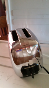 Retro general Electric stainless steel toaster