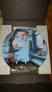 Disney collector plate cinderella