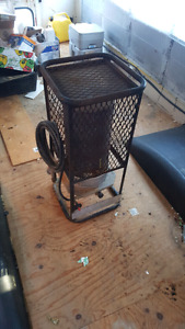 Propane construction space heater