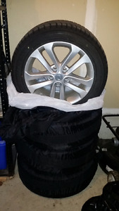 Nissan Juke Winter Tires with Rims