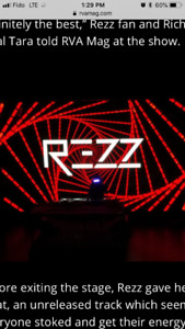 Selling two tickets for rezz and drezo tonight at rebel
