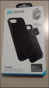 Speck Presidio iphone7,6s, shell case brand new in box black $25