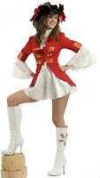 New in the Package Female Pirate Captain Costume