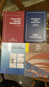 Textbooks for Civil Engineering Technology Mohawk College Course