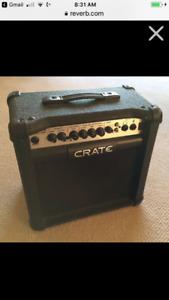 Crate gtx 15 guitar amp