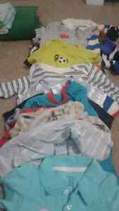 Diaper shirts 12-18m all of it 15