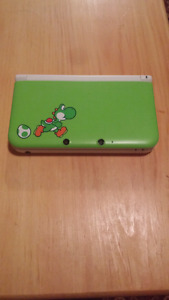 Modded Limited Edition Yoshi 3DSXL (45 Games installed)