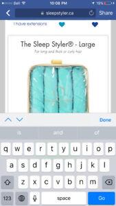 Sleep styler curlers - as seen on dragons den