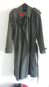 London Fog Trench Coat with Thermal Liner - Size 42