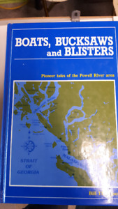 Powell River History Boats Bucksaws Blasters Book
