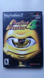 Monster Rancher 4 for t he Sony PlayStation 2 PS2