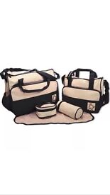 5 piece changing bag