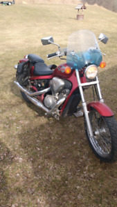 1992 Honda Shadow 650 Motorcycle