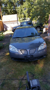 2008 Pontiac front wheel drive 198xx kms and has new front strut
