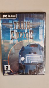 JEUX PC CD-ROM, NEUF, TRAIN EMPIRE, HELICOPTER, UFO, +++20$ CH